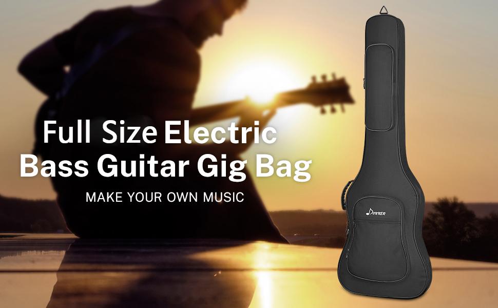 electric bass guitar gig bag