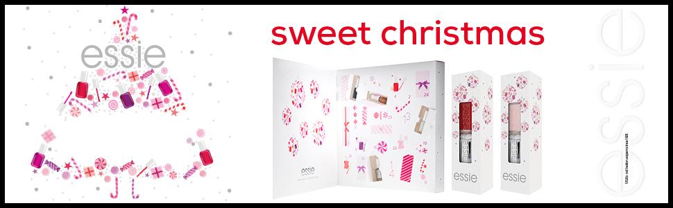 Natale, Essie, Idea regalo, smalto, smalto semipermanente, calendario avvento, cofanetto