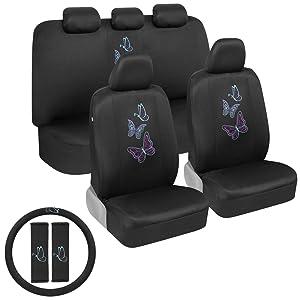 bdk croc skin seat covers gray black two tone