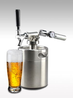 kegerator; beer, beer dispenser, nitro beer dispenser; growler;noise cleaning bottle;beer despensers