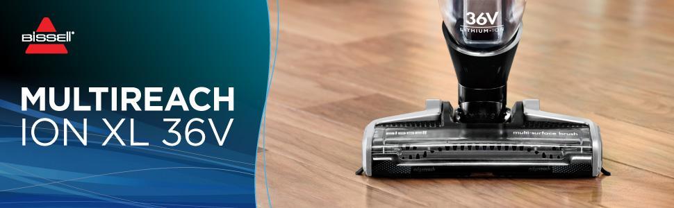BISSELL Multireach Ion XL 36V Aspirateur sans fil tapis et sol, imychic