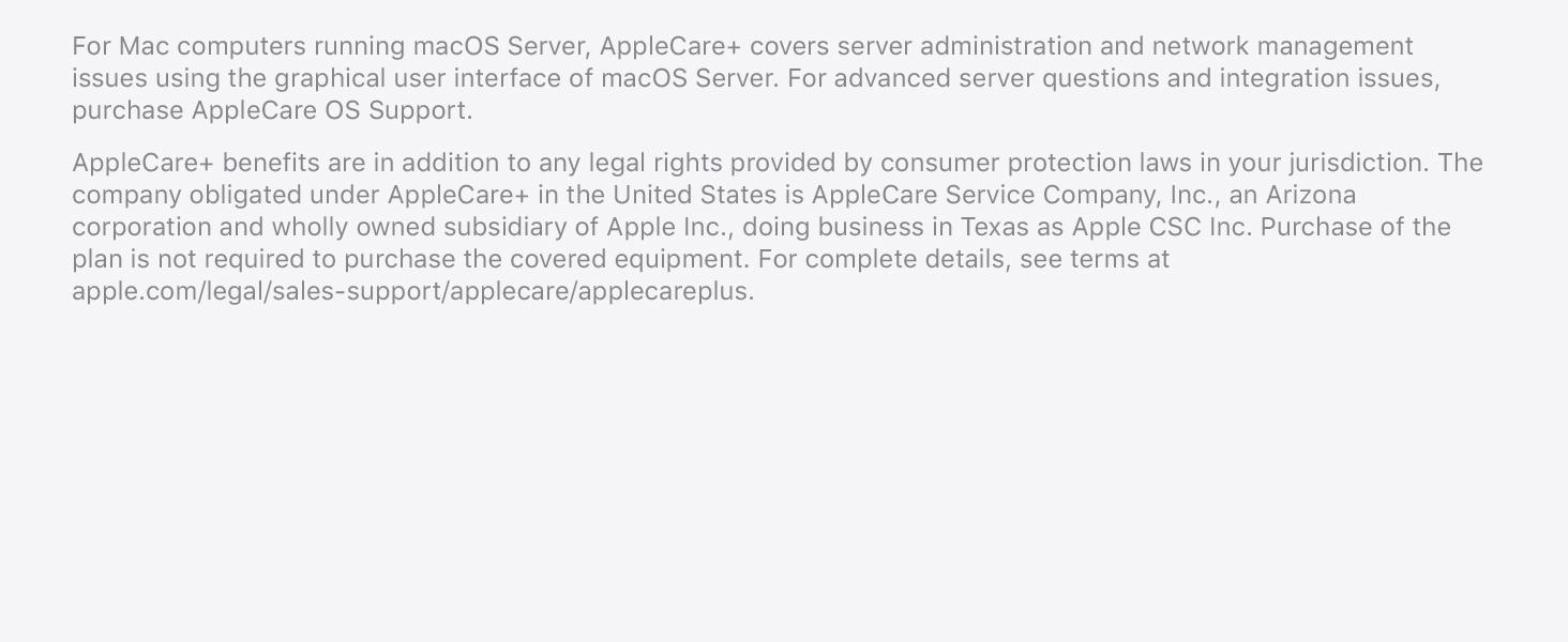 Buy apple care for mac