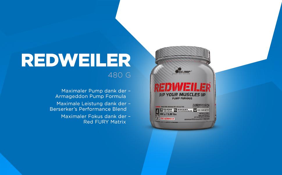 Olimp Redweiler Menta - 480 gr