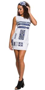 Women's R2-D2 Costume Dress