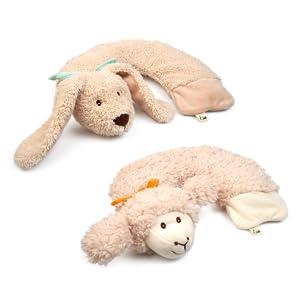 Grünspecht Wärme-Knuddel Baby Bär gefüllt mit Rapssamen Wärmetier Stofftier
