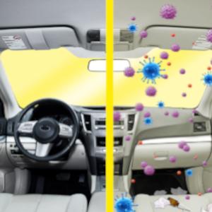 Fits Audi Q3 8U 2.0 TDI imprimé bleu intérieur Air odeur habitacle filtre à pollen
