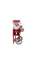 West Bend Popcorn Cart