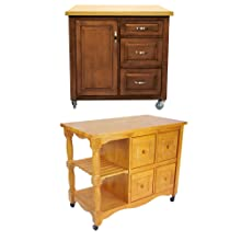 kitchen cart,rolling cart,kitchen island,oak,traditional,country,light wood,solid wood,storage