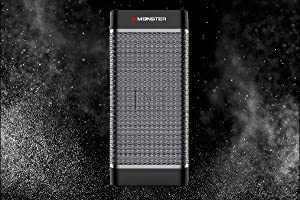 Monster Tower of Music 2 - Expand up to 8 Speakers (EZ-Play), Water  Resistant Portable Wireless Bluetooth Speaker with Wall Mount