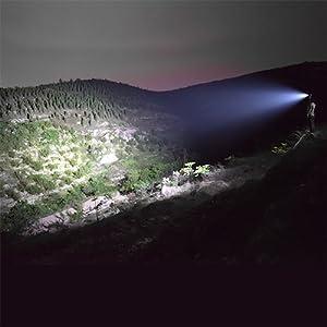 fenix pd series light beam led flashlight brightness pd25 pd35tac pd40r 550 1000 3000 lumens