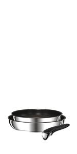 Tefal Ingenio Preference L9409042 - Set de sartenes 22/26 cm ...