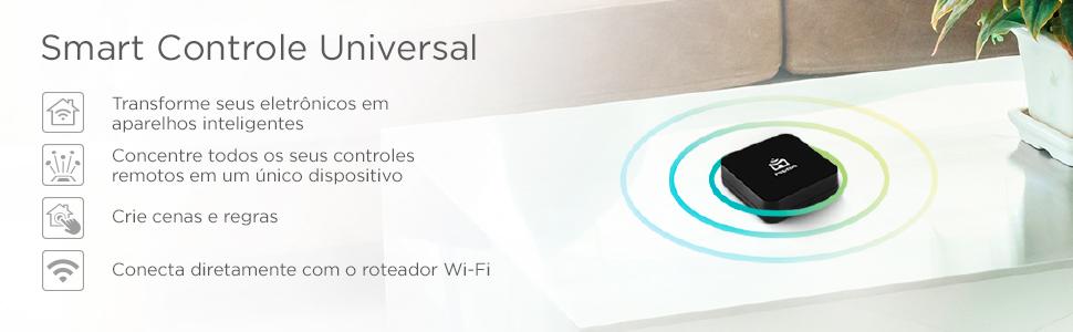 Positivo Casa Inteligente Kit Casa conectada smart controle universal