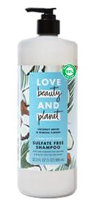 Love Beauty & Planet Coconut Water & Mimosa Flower Shampoo