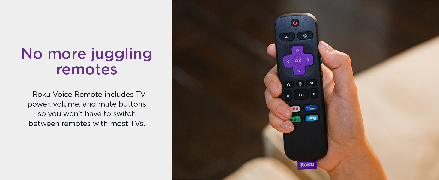 No more juggling remotes