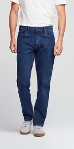 Wrangler Straight Jeans Uomo