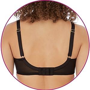freya, viva, side support, lingerie, full bust, viva plain, stretch lace, comfort, bra