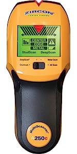 msA250c, A250c, stud, edge, center, act, deepscan, ac scanner, wirewarning, metal, multiscanner, stu