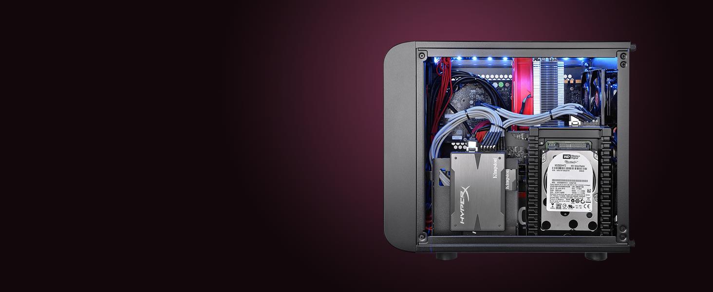 Thermaltake Core V1 micro-ATX Computer Case