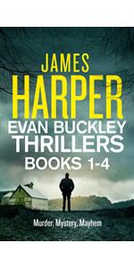Evan Buckley Crime Thrillers Box Set by James Harper, Evan Buckley, private detective mystery