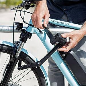 abus, folding, bike, lock