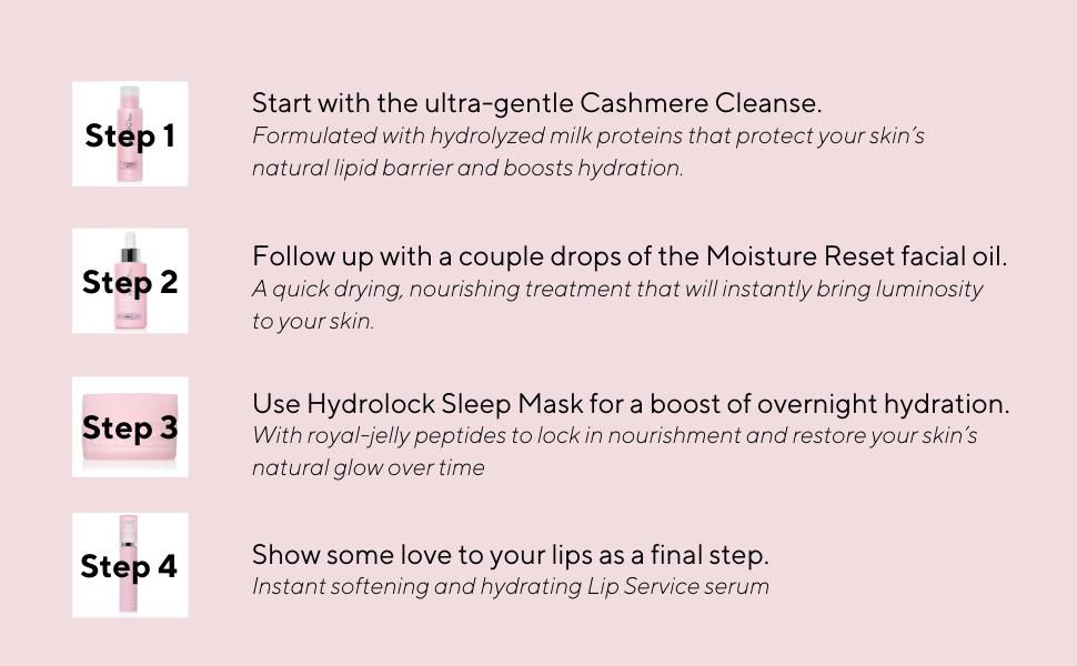 Hydropeptide Sleep Prettier Moisture Ritual Kit