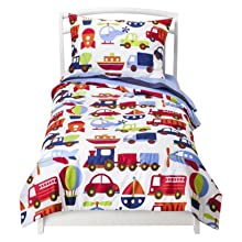 Bacati Transportation Multicolor Bedding Collection