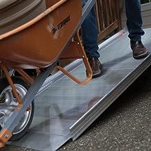 Aluminium Walking Ramp