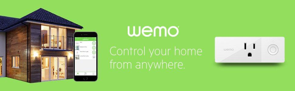 Wemo - Control your home from anywhere.
