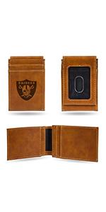 wallet,mens wallet,wallet for women,wallet for men,leather wallet,NFL,Raiders,Las Vegas Raiders