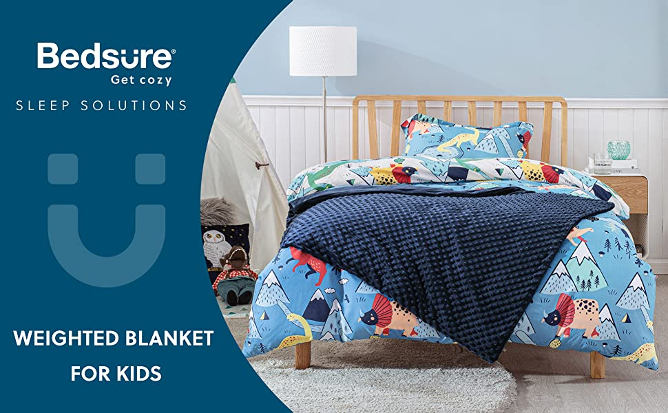 Get cozy with  Weighted Blanket for Kids