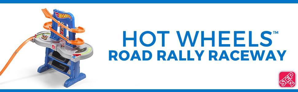 Hot Wheels Road Rally Raceway