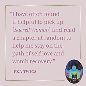 sacred woman;spiritual books;chakra healing;queen afua;holistic healing;books for black women