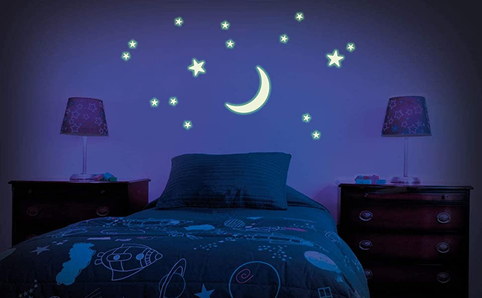 Glow Stars Crescent Moon Collection