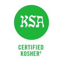 Certified Kosher.