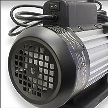 mastercool, 90066-B, vacuum pump, 6 cfm, single stage, high volume fan