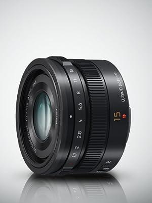 Panasonic Blendendeckel für H-X015 LEICA DG Summilux 15mm f//1,7 schwarz NEU