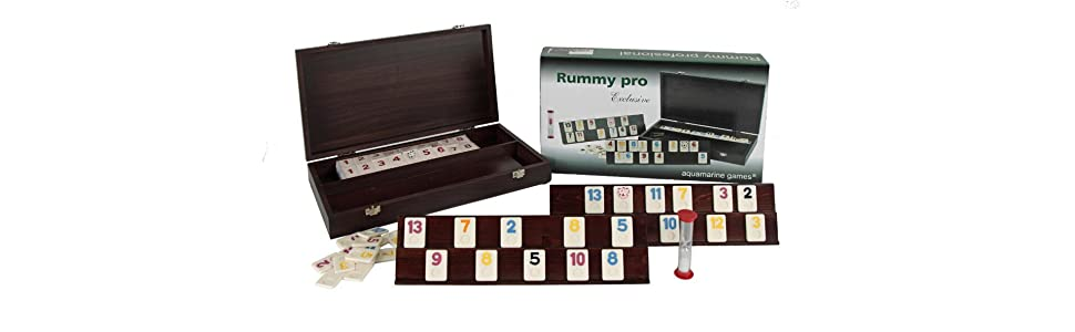 Aquamarine Games - Rummy Profesional (Compudid CP103014): Amazon ...