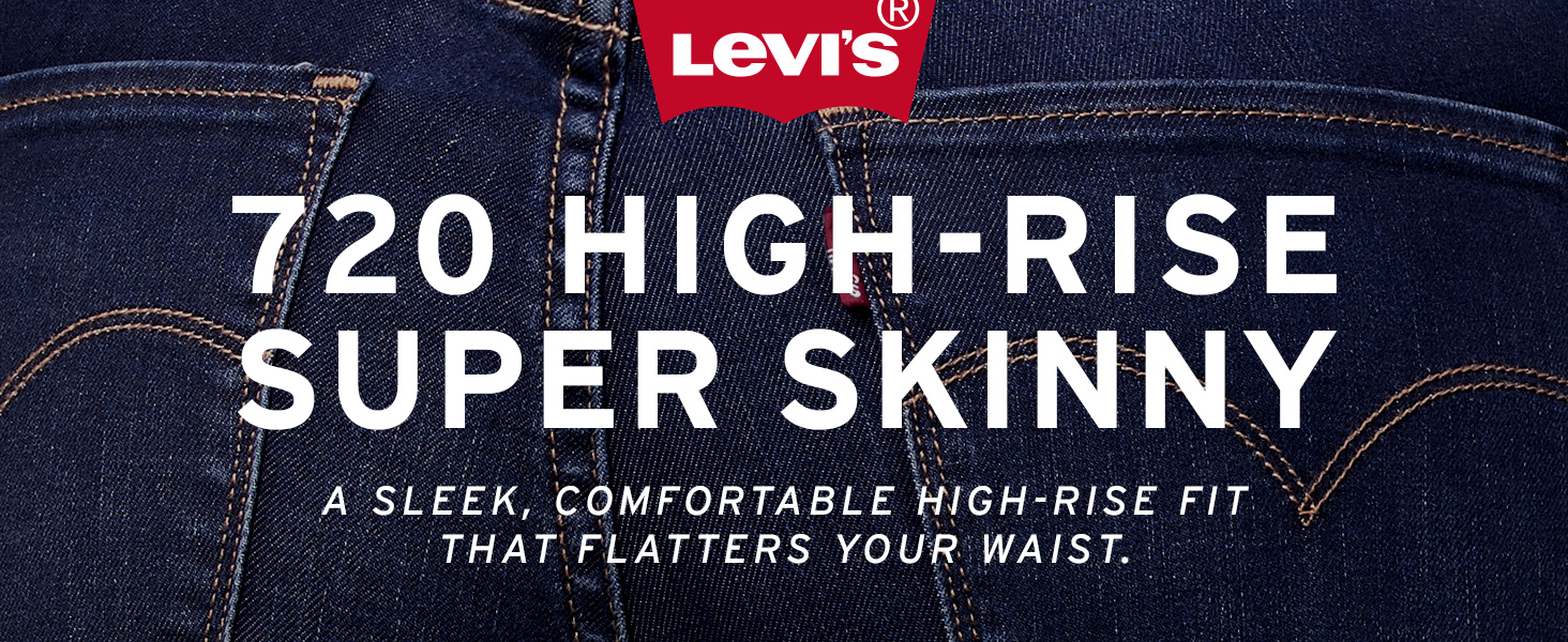 Womens Levis 720 High Rise Super Skinny Jean