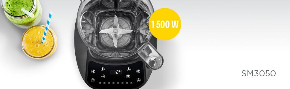 Concept Electrodomésticos sm3050 Batidora Smoothie Maker de 33 000 ...