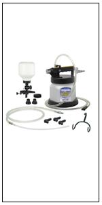 MV6835, vacuum brake bleeding, bleeder, bleeding, air-operated bleeding, clutch bleeding, job tool
