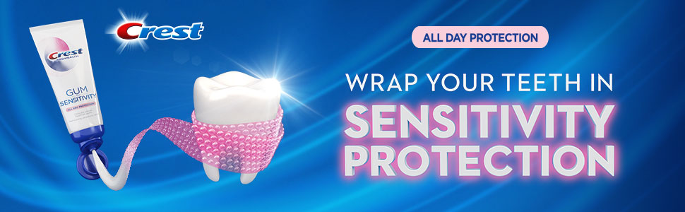 Wrap your teeth in sensitivity protection