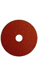 Weiler 60600 Tiger Aluminum Resin Fiber Disc with Quick Change Hub