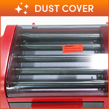 Dust Cover To keep the rollers clean when in storage.