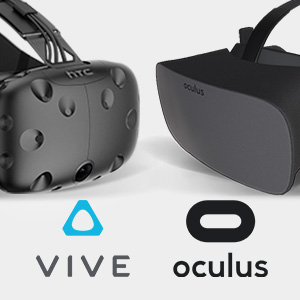 HTC VIVE & Oculus Rift VR Optimized