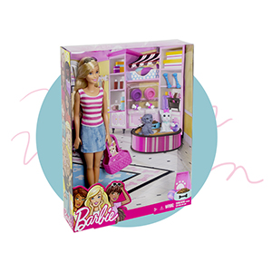 barbie, dolls, toys, girls, play sets, dollhouses, pets, dogs,cat, friendly, animal-lovers, friends