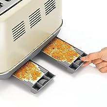 Morphy Richards Black Evoke 4 Slice Toaster 240105