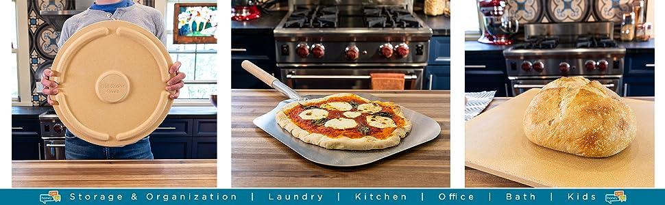 16-inch round pizza stone