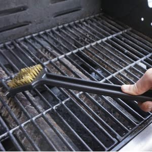 BBQ, Barbecue, Cleaning Brush, Grill, Bristle, Stainless Steel, Scrub, Scour, Brass, Scraper