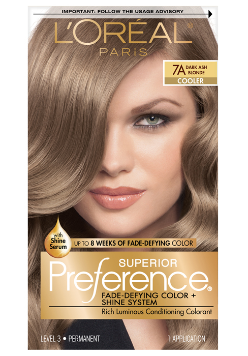 Amazon Com L Oreal Paris Excellence Creme Permanent Hair Color 4 Dark Brown 100 Percent Gray Coverage Hair Dye Pack Of 1 Chemical Hair Dyes Beauty