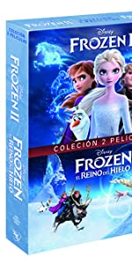 frozen II frozen pack dvd disney
